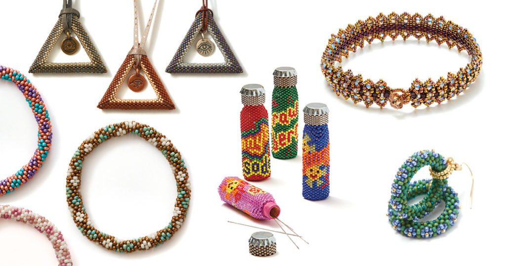 beading with seed beads