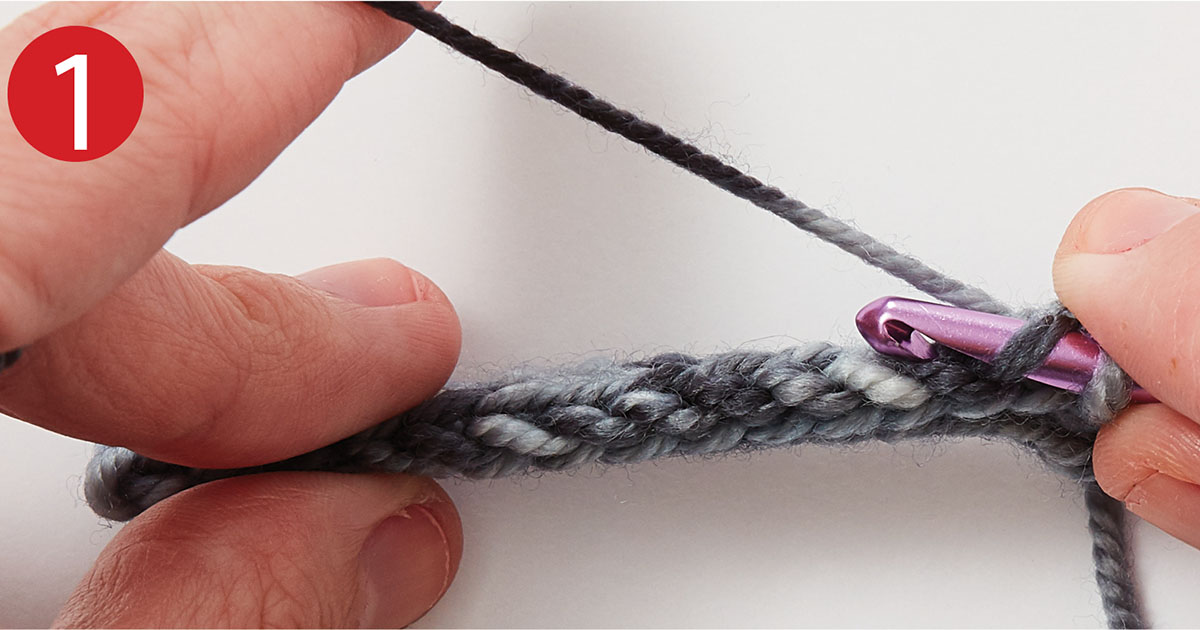 Crochet Slip-Stitch