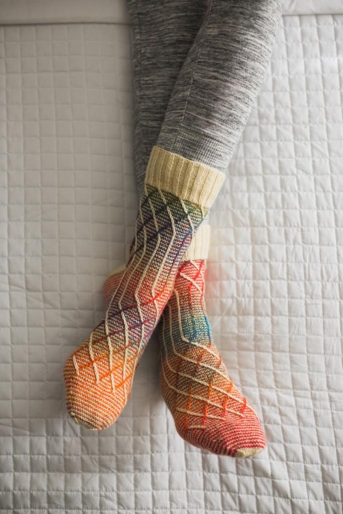 I love the Slippery Slope Socks by General Hogbuffer!