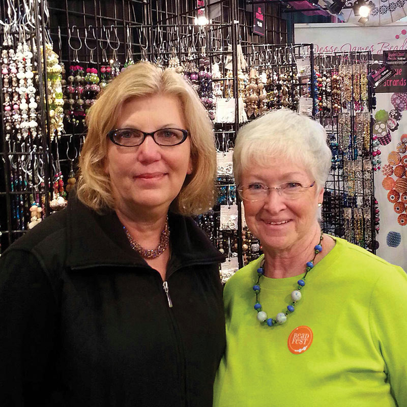 Beadwork Magazine celebrates you and your story - Donna Leather and Linda Smith