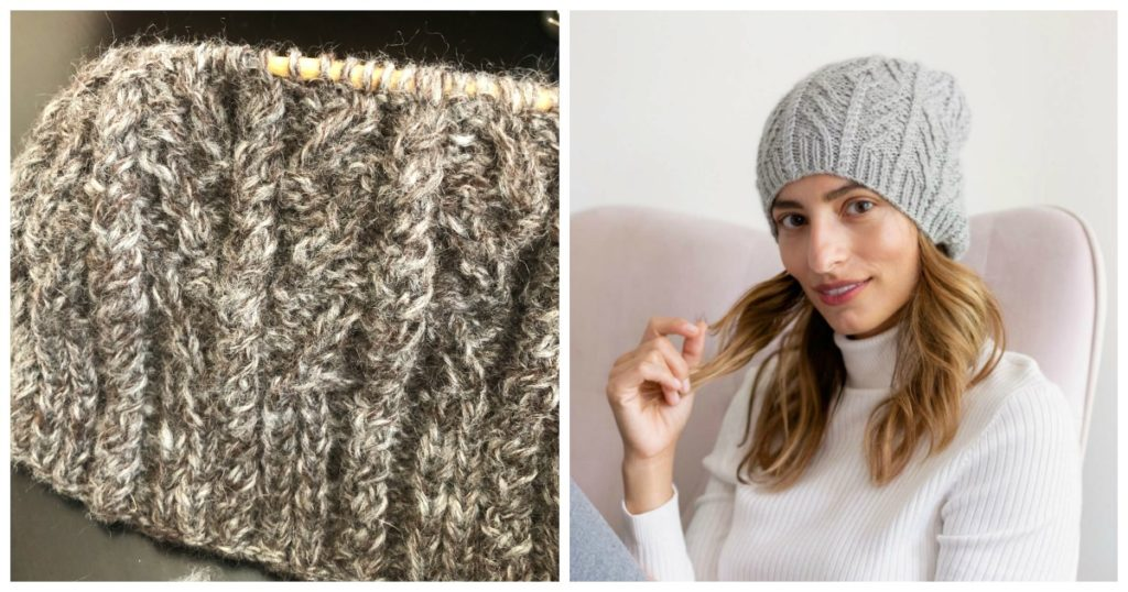 Snowburst Beanie: A Soothing WIP to Savor