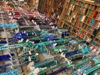 Many stores introduce new products, offer special prices, and more during the Bead Shop Hop weekends. Images courtesy of SCLBSA.