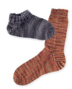 Learn to knit socks that fit!