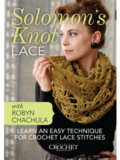 Learn how to crochet Solomon's knot lace.