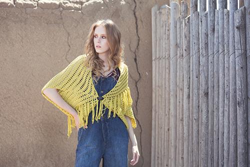 Sonoran Crochet Shrug Pattern