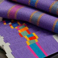 Twill and basketweave towels by Robin Spady