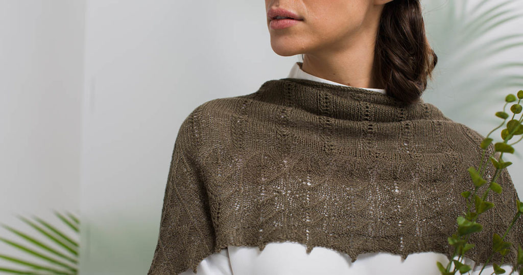 Pattern of the Week: Spanish Moss Wrap