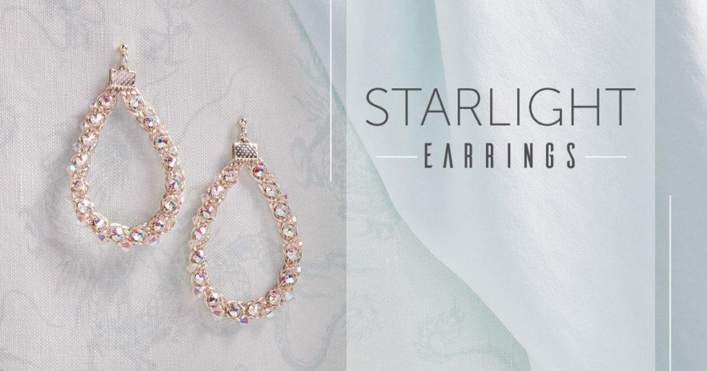 <i>Kumihimo Wirework Made Easy:</i> Starlight Earrings