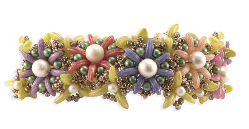 Beadweaving Floral Motifs and Fresh Thinking, with Nichole Starman