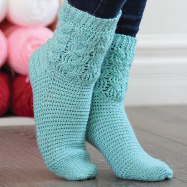 step into crochet