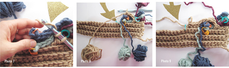 crochet cable