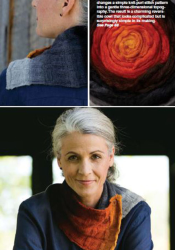 Stone Fire Cowl by Amy Tyler