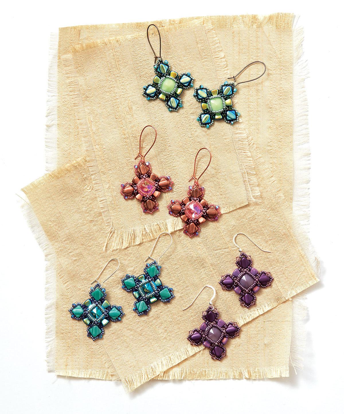 Sugar Coated Earrings by Laura Graham