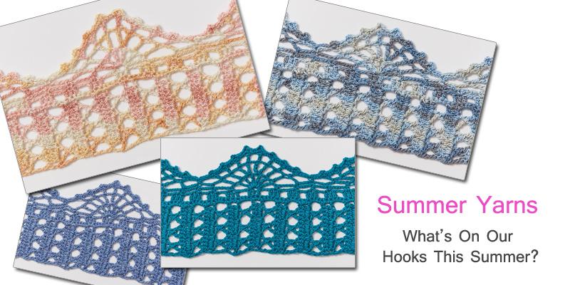 Crochet Light: Recommendations for Summer Yarns