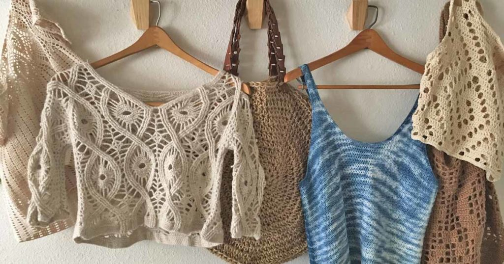Finished Project Roundup from <em>Interweave Crochet</em> Summer 2018!