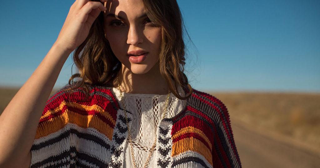Pattern of the Week: Sunset Stripes Ruana