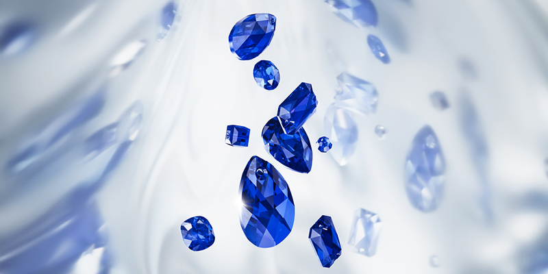Swarovski Majestic Blue