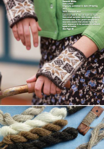 Swatch Mitts by Kate Larson