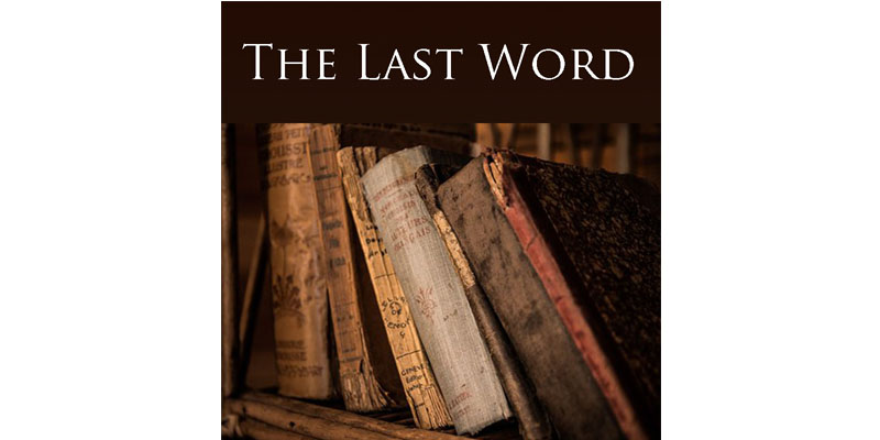 The Last Word: PieceWork recommends media of interest