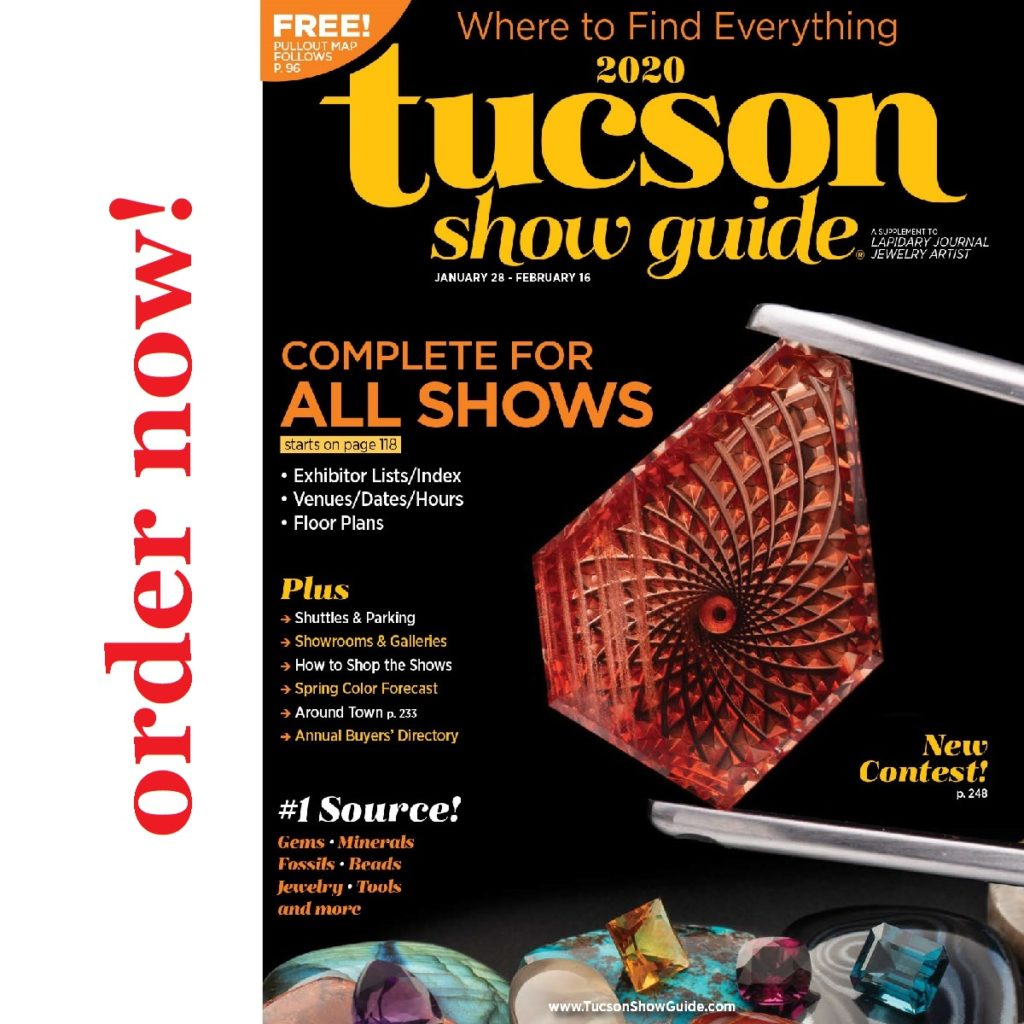 Tucson show guide gem jewelry mineral bead shows