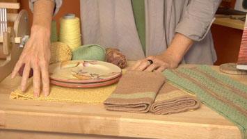 Liz Gipson's handwoven napkins