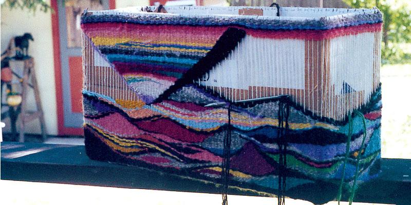 Inspiration Everywhere: Handspun Yarn in Tapestry Weaving