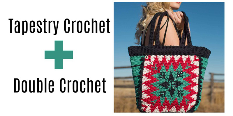 Tapestry Crochet with the Double Crochet Stitch!