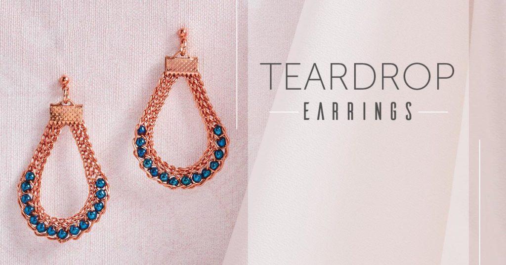 <i>Kumihimo Wirework Made Easy:</i> Teardrop Earrings