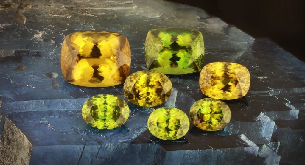 Psychology of Color: Sapphire, Sphene, and Other Yellow Gemstones