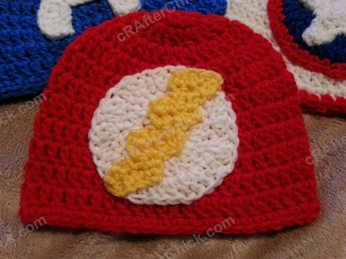 84ebc5f97a1 The Flash Superhero Beanie Hat Crochet Pattern