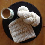 WIP Wednesday: Timber Cabled Toque