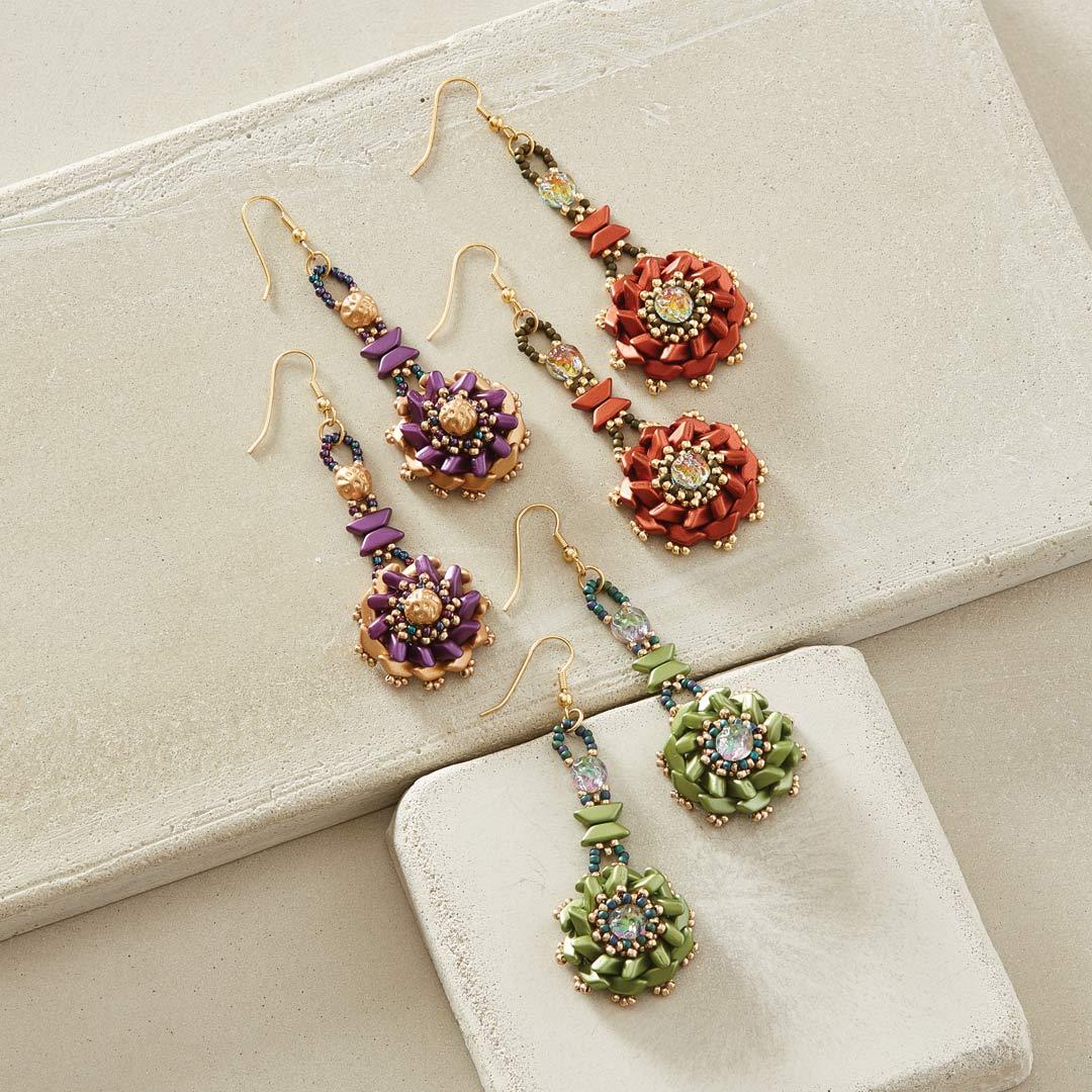 Tinos Flower Earrings