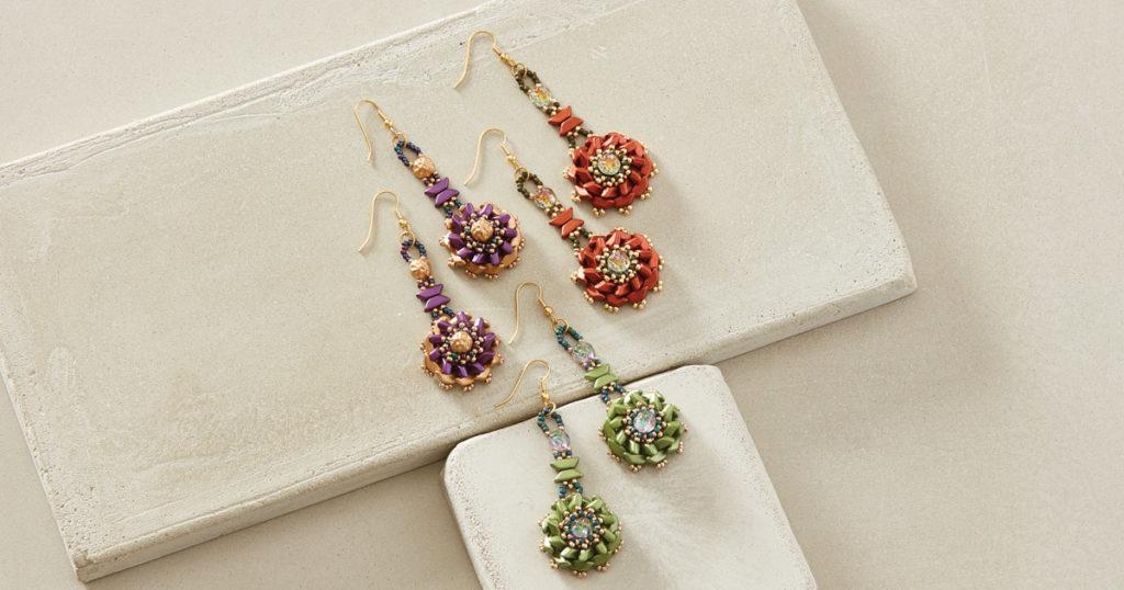 Tinos Flower Earrings by Susan Sassoon