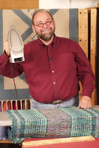 Tom Knisely is here to teach you how to weave a rug, from start to finish.