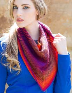 The Tourlaville Shawl (get the kit!)