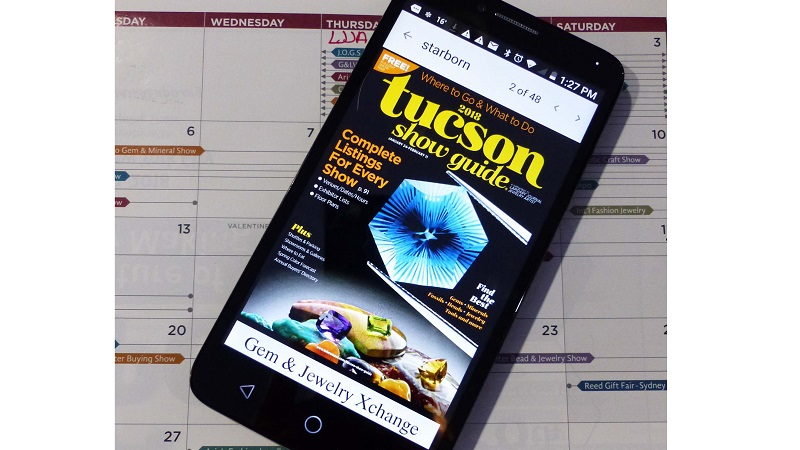 Studio Notes: Tucson Show Guide Made Easy on Your Phone