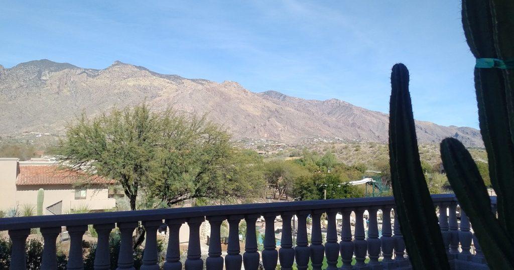 Tucson mountain header