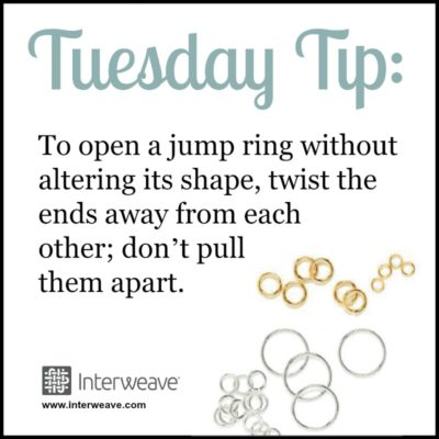 How to Open Jump Rings Correctly