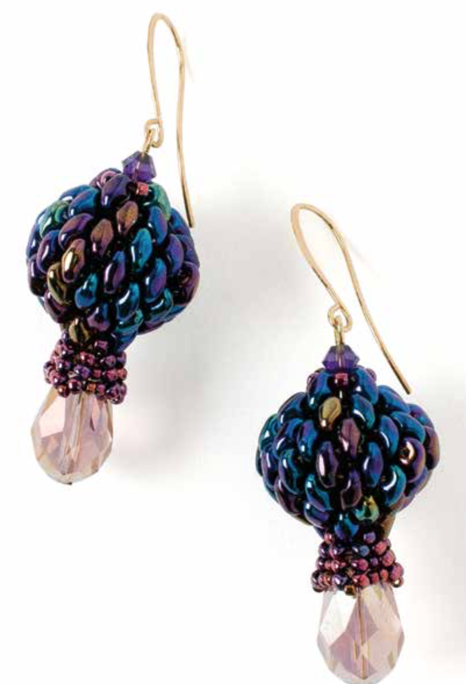 Tulip Mania earrings, by Reem Iverson