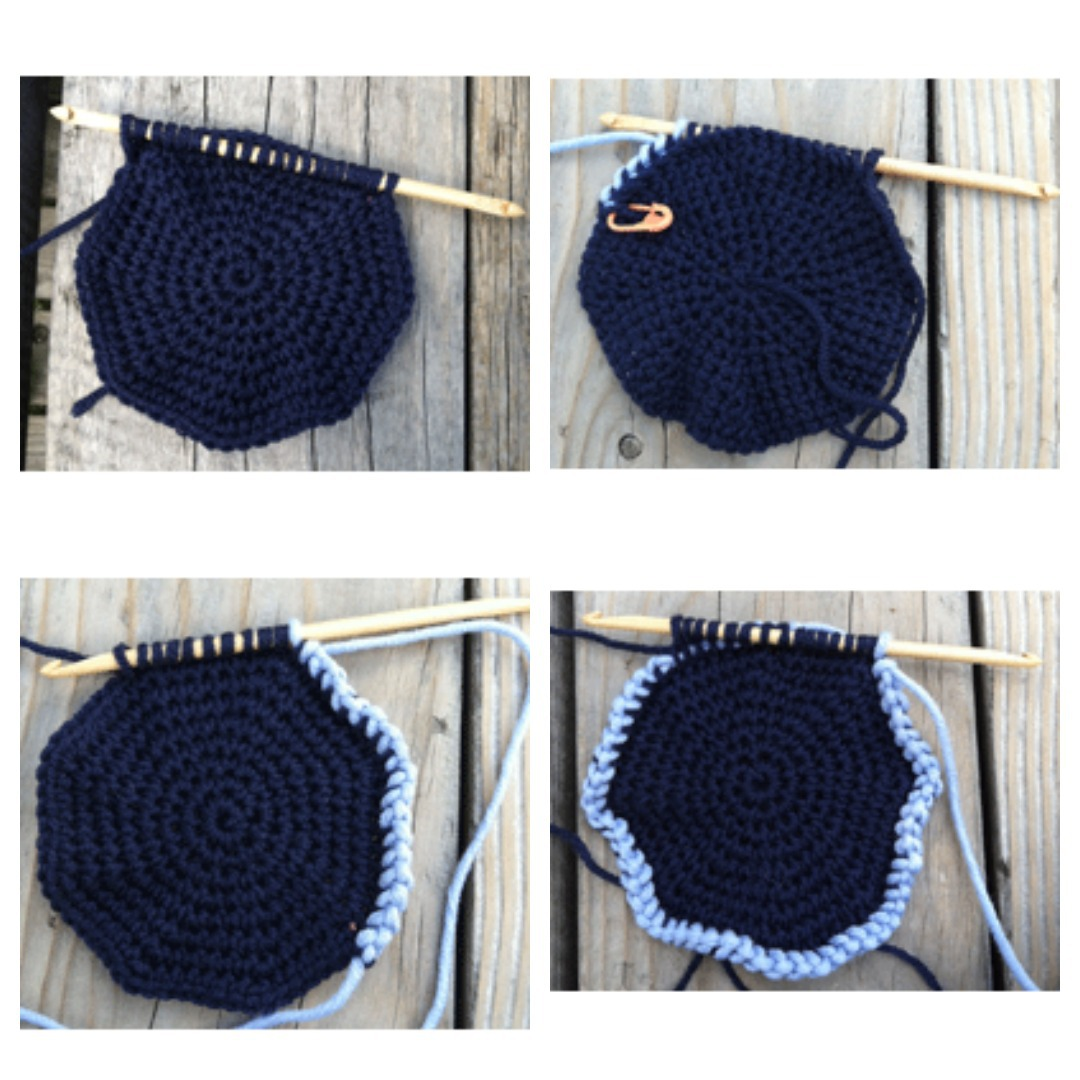 Working Tunisian crochet in the round allow you to work in circles or in continuous rounds without joining for projects such as hats and cowls.