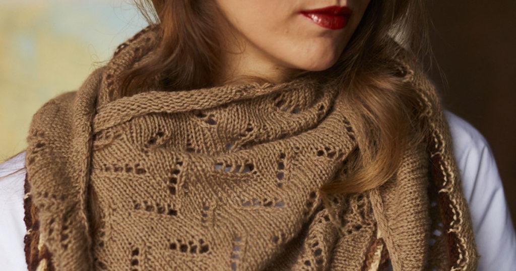 <em>Knitting Traditions</em> 2018: Twists &#038; Turns Wrap