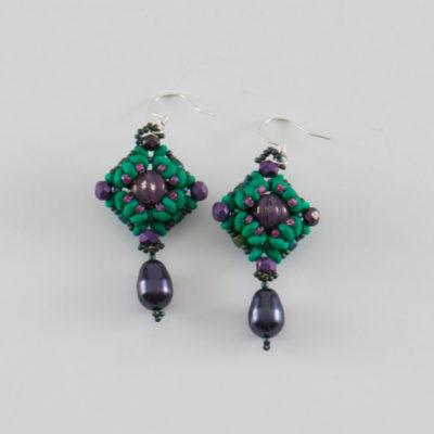 Two in One Earrings by Agnieszka Watts