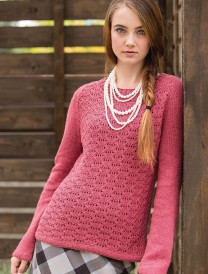 Talmage Pullover Heather Zoppetti Unexpected Cables