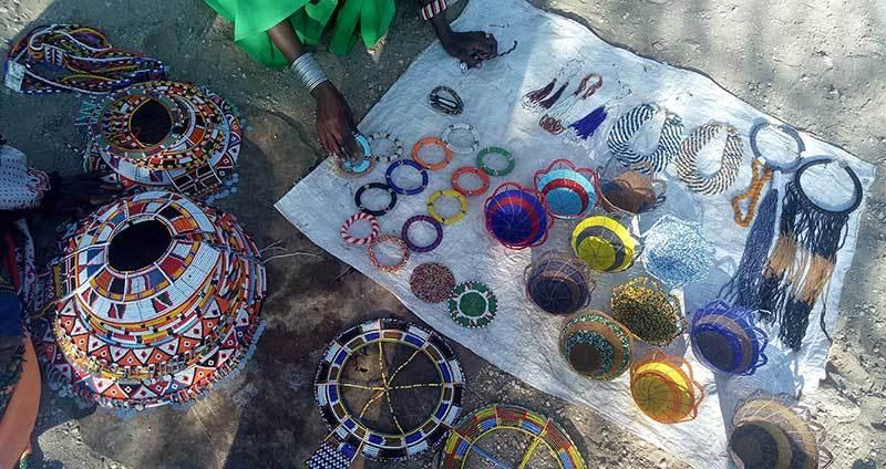 Unity Village Beaded Products; photo credit: Apin Yasin