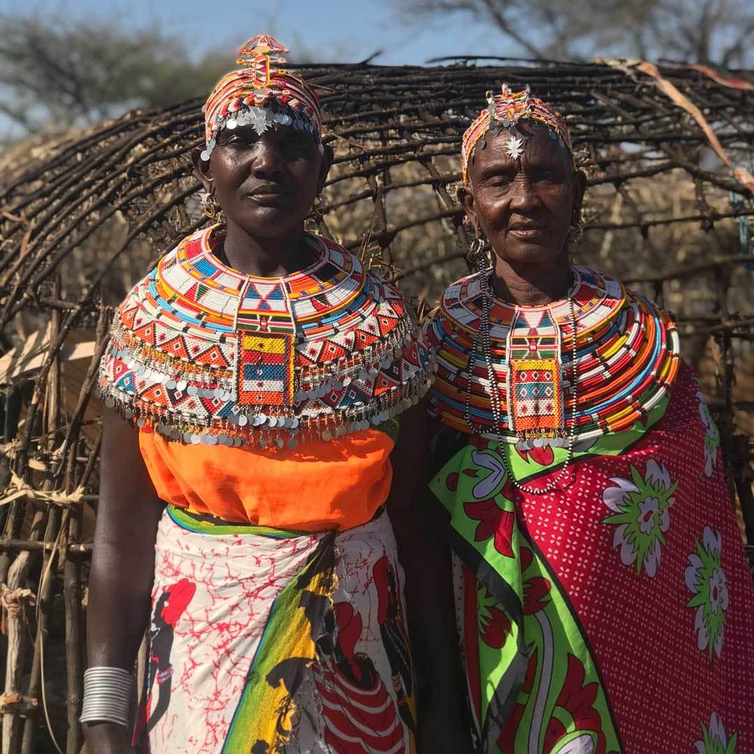 Margaret Lepeesha & Ngamasioi Lembwakita; photo credit: Will Davis & Meredith Grady