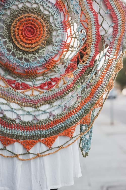 Ventura Shawl Close Up