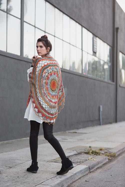 Ventura Shawl Crochet Pattern