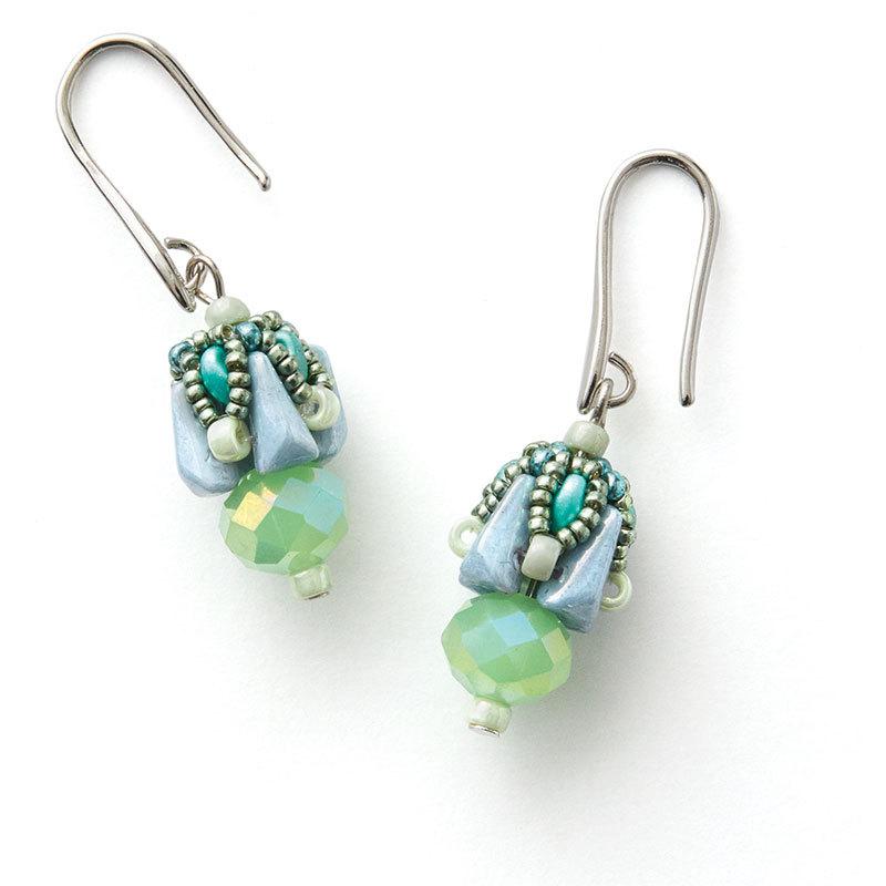 Peadar Beaded Bead earrings
