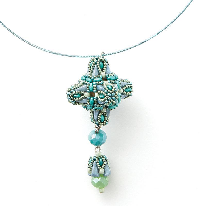 Vezsuzsi's Peadar Beaded Bead necklace