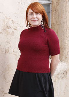 Knitting Gallery - Victoria Yoke Pullover Meghan